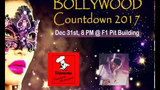 bollywood countdown party 2017 @ F1 PIT Building