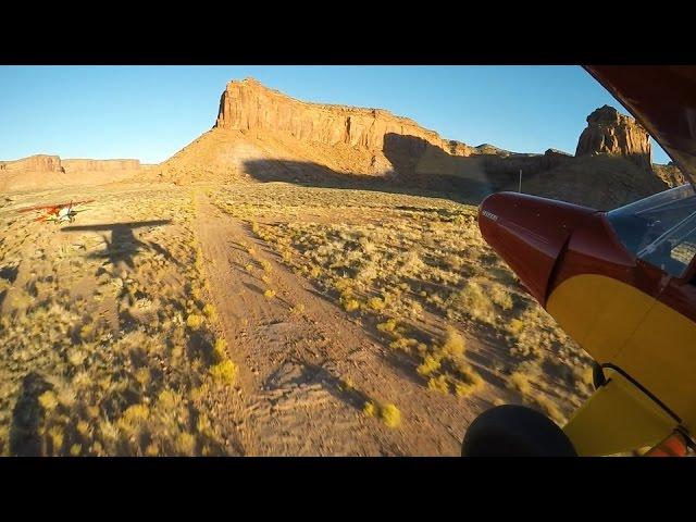 Utah Backcountry Flying - Happy Canyon Part II