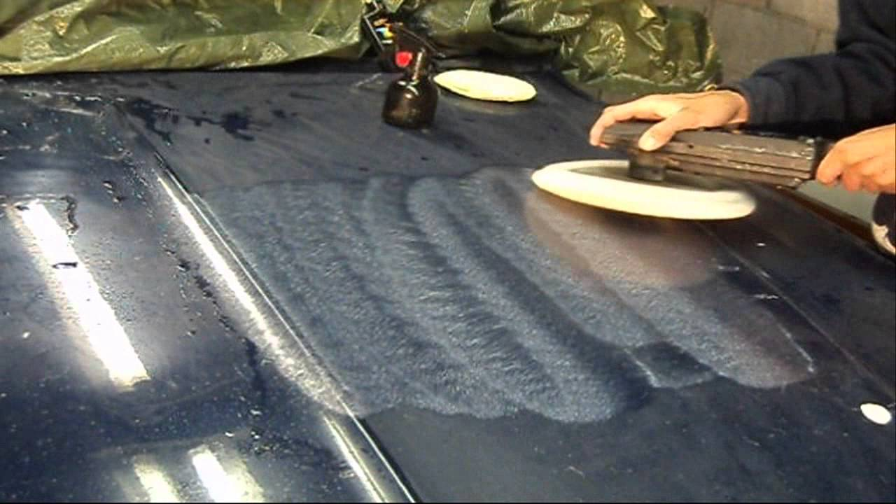 Wet Sanding Clear Coat >> Buffing A Shine After Wet Sanding