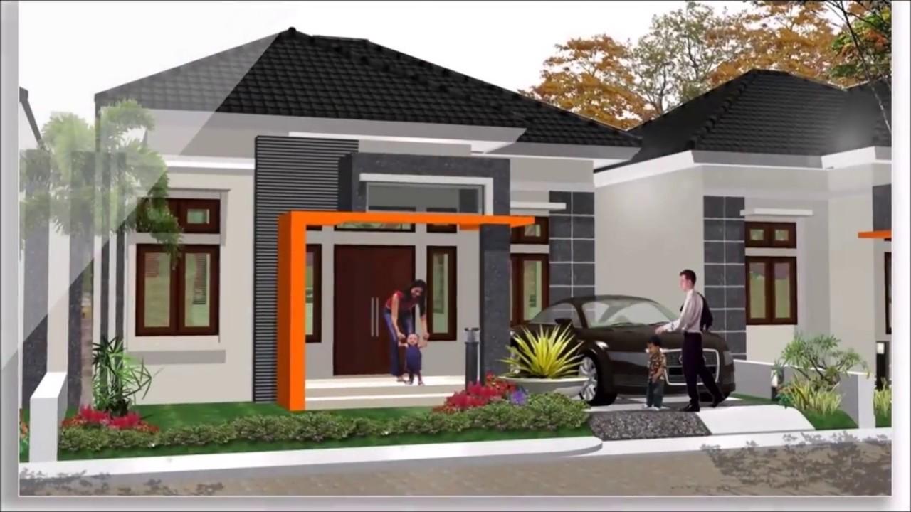 11 Desain Rumah Minimalis Modern 1 Lantai Terbaru YouTube