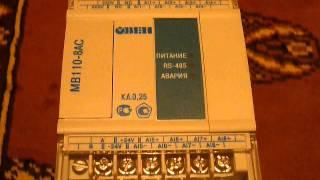 ПЛК контроллер Овен модуль скоростного ввода аналоговых сигналов МВ110-8АС