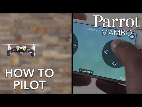 Parrot Minidrones - MAMBO - Tutorial #2: Piloting