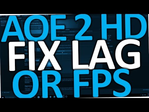 Age Of Empires 2 HD How To Fix Lag (AOE 2 HD Fix Low FPS)