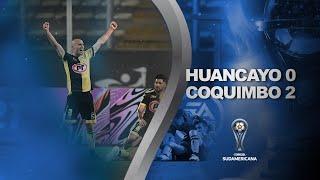Sport Huancayo vs. Coquimbo Unido [0-2] | RESUMEN | Octavos de Final | CONMEBOL Sudamericana