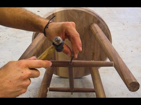 Crafting A Simple Walnut Stool