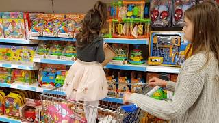 One of Emily Tube's most viewed videos: Having Fun  in the Shopping buying toys