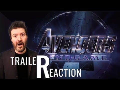 AVENGERS ENDGAME - Trailer Reaction e Commento