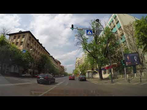 Driving in Real Time,  Bucharest. 4K