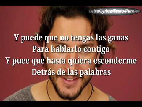 Manuel Carrasco - D茅jame Ser (Letra/Lyrics)