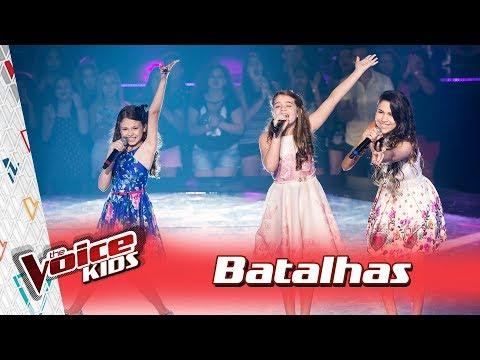 Giovanna Alvarenga, Isadora e Sofia cantam 'Holiday' nas Batalhas – TVK Brasil | 3ª T