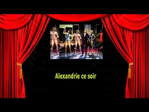 Karaoké Claude François   Alexandrie Alexandra