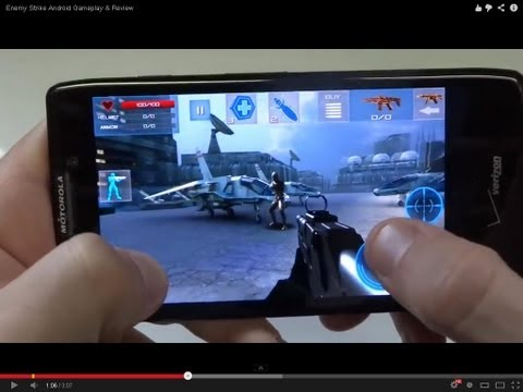 Enemy Strike Android Gameplay & Review - Fliptroniks.com