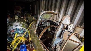 В НГТУ привезли два бомбардировщика для реставрации