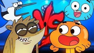 Video Mordecai e Rigby VS. Gumball e Darwin 2 | Duelo de Titãs Part. Tec Plays download MP3, 3GP, MP4, WEBM, AVI, FLV Agustus 2018