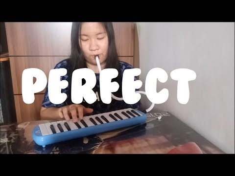 Perfect - Ed Sheeran | Cindy Felicia | Melodica Cover