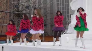 20170211 さっぽろ雪まつり 北海道南幌町ご当地アイドル 南幌町Speciali...