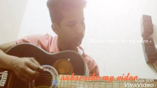 Teri galliyan guitar cover by madhav