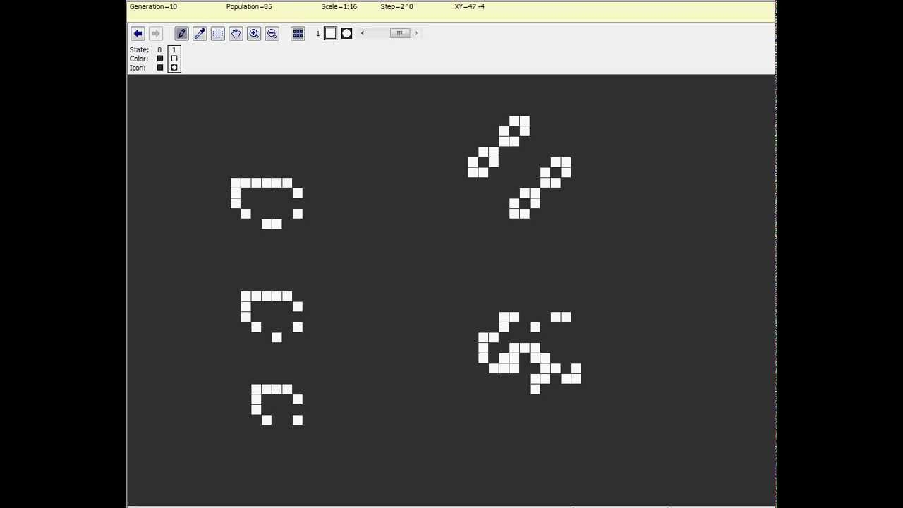 Conway's Game Of Life Patterns Interesting Inspiration