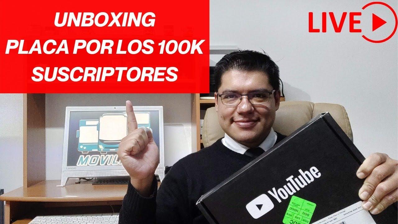 UNBOXING DEL BOTÓN DE PLATA POR 100,000 MOVILFANS!