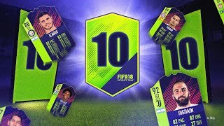10 x PATH TO GLORY GUARANTEED PACKS! - FIFA 18 Ultimate Team