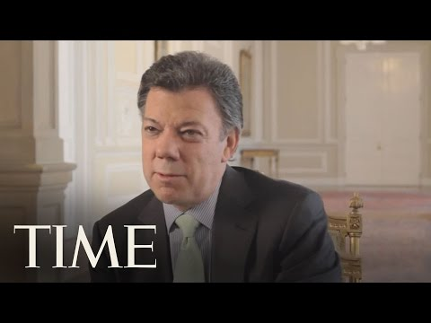 Interview With Colombian President Juan Manuel Santos | TIME