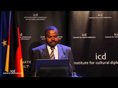 Ibrahim Mohammed Adam (Director of Cultural Relations and Information. University of Sudan)