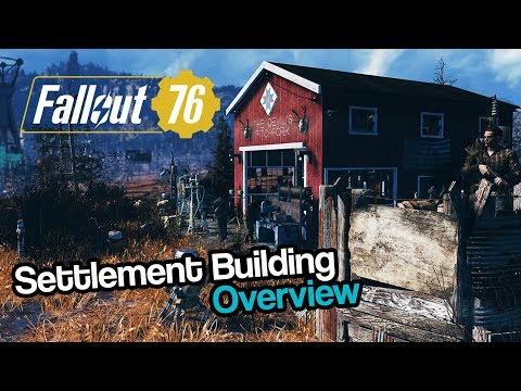 Fallout 76 | Settlement Building Overview (Camps Gameplay) thumbnail