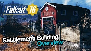 Fallout 76 | Settlement Building Overview (Camps Gameplay)