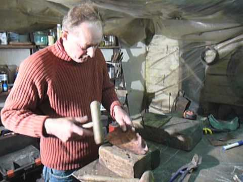 Making A Copper Fish Sculpture Youtube