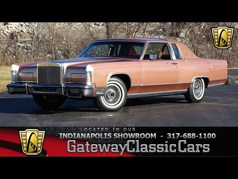 1978 Lincoln Town Coupe Indianapolis-1243