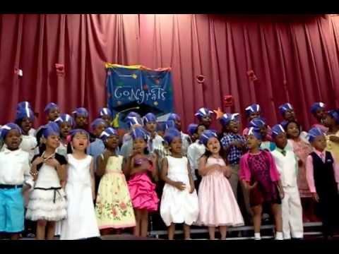 Hebbville Elementary School Kindergarten Farewell 2013 - The Number Rock