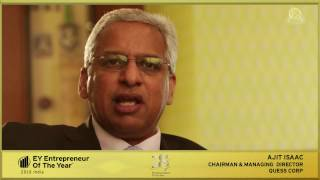 Ajit Isaac, Chairman and MD, Quess Corp: EOY Awards Finalist