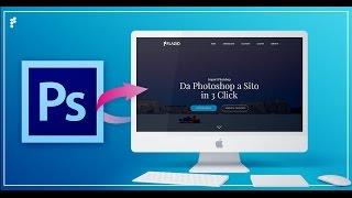 Da PSD ad HTML/CSS Come convertire un file di Photoshop in un sito web