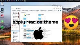 mac os (apple) theme for p c
