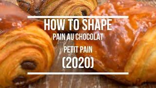 How To Shape Pain Au Chocolat  Petit Pain (2020)