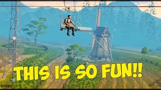 LifeAfter #11 - HOW TO EARN GOLD FROM CAMP & CABLE CAR RIDE!