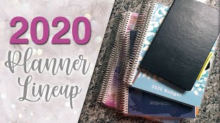 2020 Planner Lineup :: Etsy Shop Updates