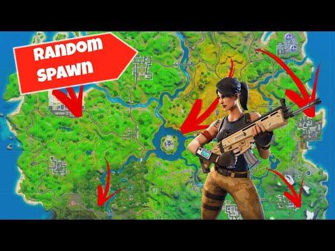 Easiest Way To Set Up Random Spawns In Fortnite Creative   Gun Games / FFA
