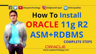 How to install Grid infrastructure ASM with RDBMS in ORACLE 11g R2