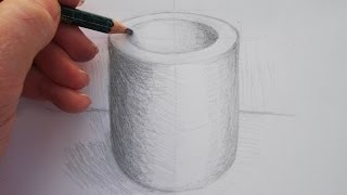 Simple Drawing Exercise: Drawing an Ellipse Step by Step