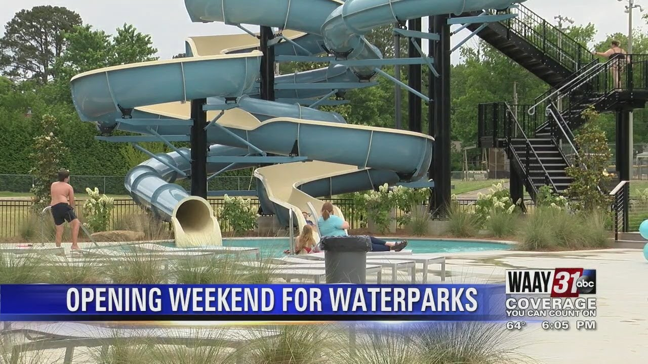 We are so excited to announce waterpark wednesdays! Opening Weekend For Sand Mountain Water Park Youtube