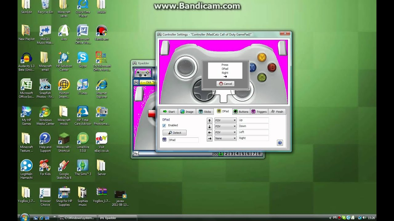 How to setup your xbox 360 controller with xpadder - YouTube