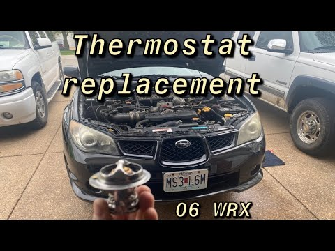 How To Replace Your Thermostat (2006 Subaru WRX)