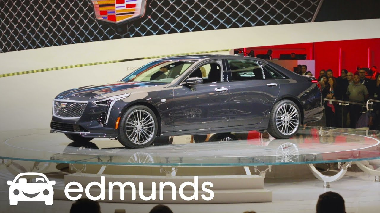 2019 Cadillac Ct6 V Sport First Look Edmunds Youtube
