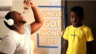Luh & Uncle Extra Sketch - Uncle Got Money?? (MDM Sketch Comedy)
