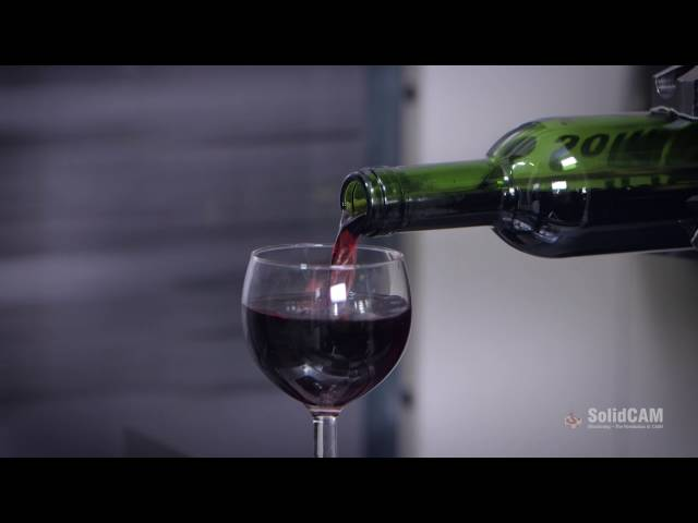 No Corkscrew? ... SolidCAM has the Solution!