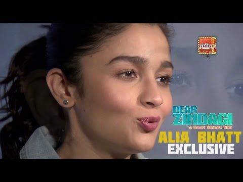 EXCLUSIVE INTERVIEW: ALIA BHATT | DEAR ZINDAGI ! SHAHRUKH KHAN