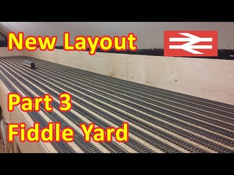 New Layout Build – Fiddle Yard