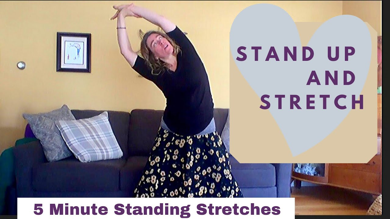 5 Minute Standing Stretches