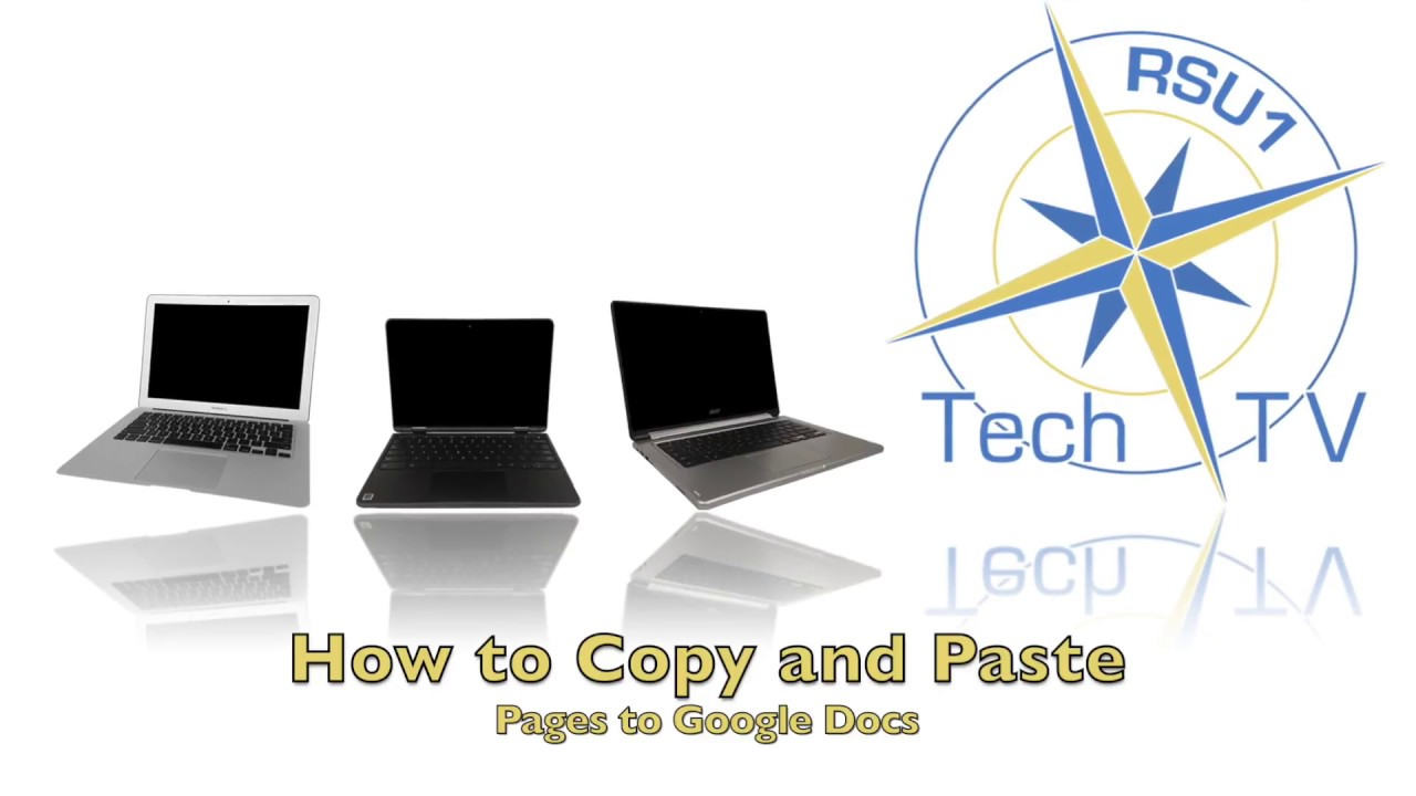 How To Copy And Paste From Pages To Google Docs